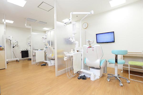 ゆったりとした診療スペース